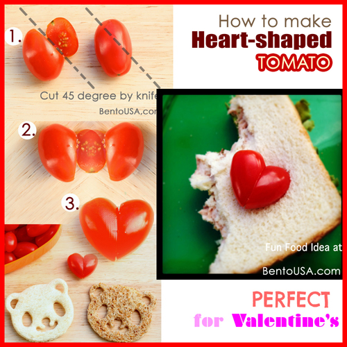 How to make Heart shaped Strawberry in a few seconds ...